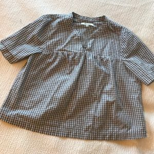 Madewell boxy Cotton top